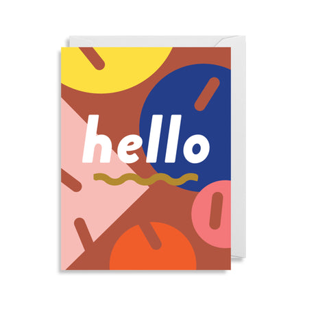 'Hello' - Mini Card