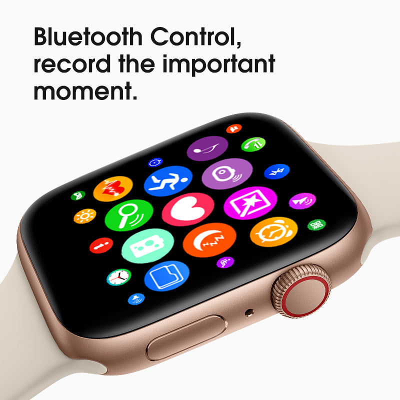 Hot 44mm voice control siri 1:1 smart watch series 4 with wireless charging  bluetooth i6 smart watches for iphone and android