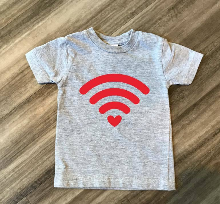 Wifi Valentine's Day Shirt