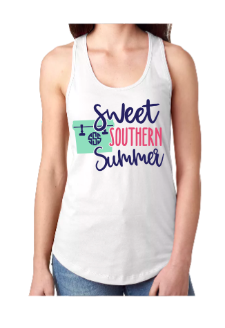 Sweet Southern Summer Cooler Tank