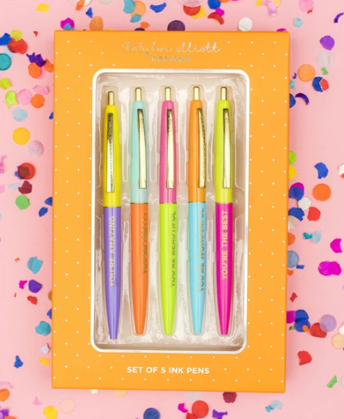 Complimentary Colors Ink Pen Set