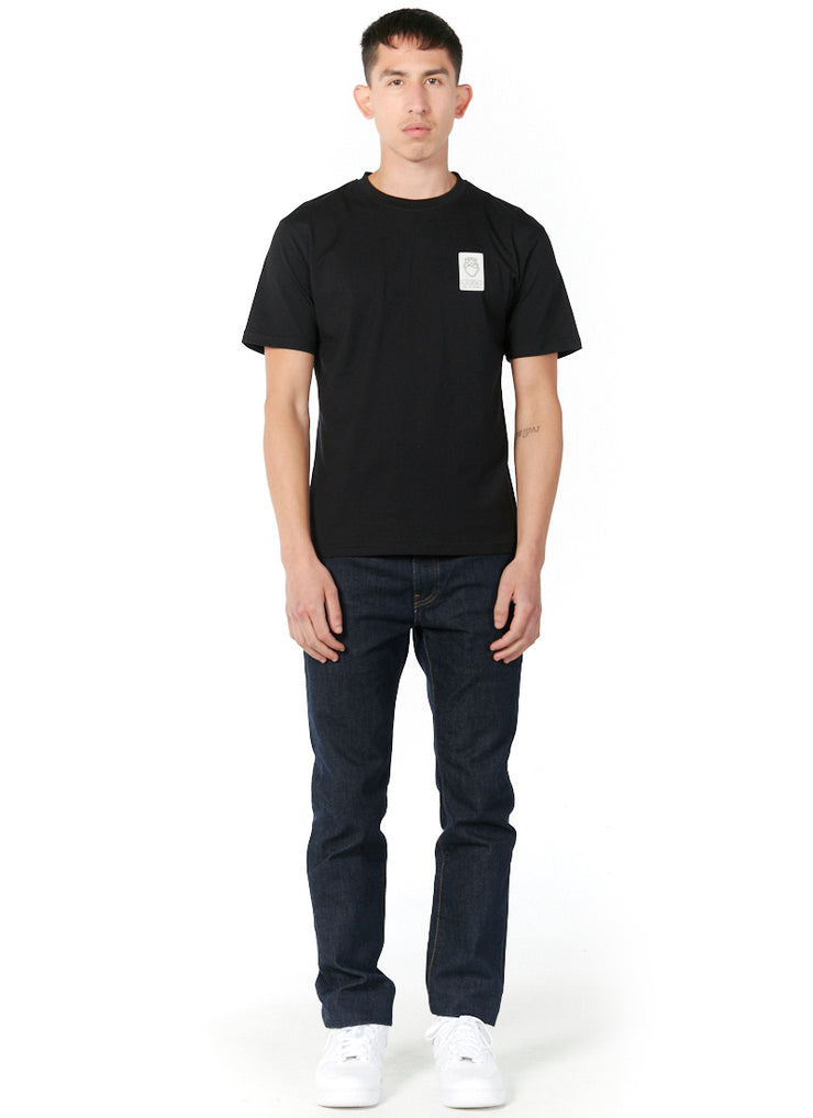 T-shirt Patch Industriel Noir