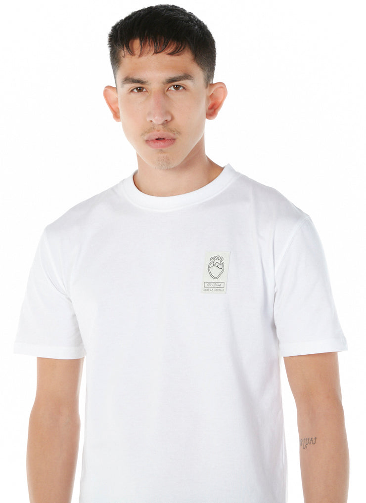 T-shirt Patch Industriel Blanc