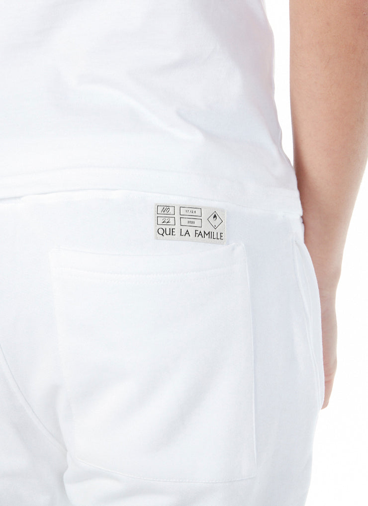 Short Patch Industriel Blanc