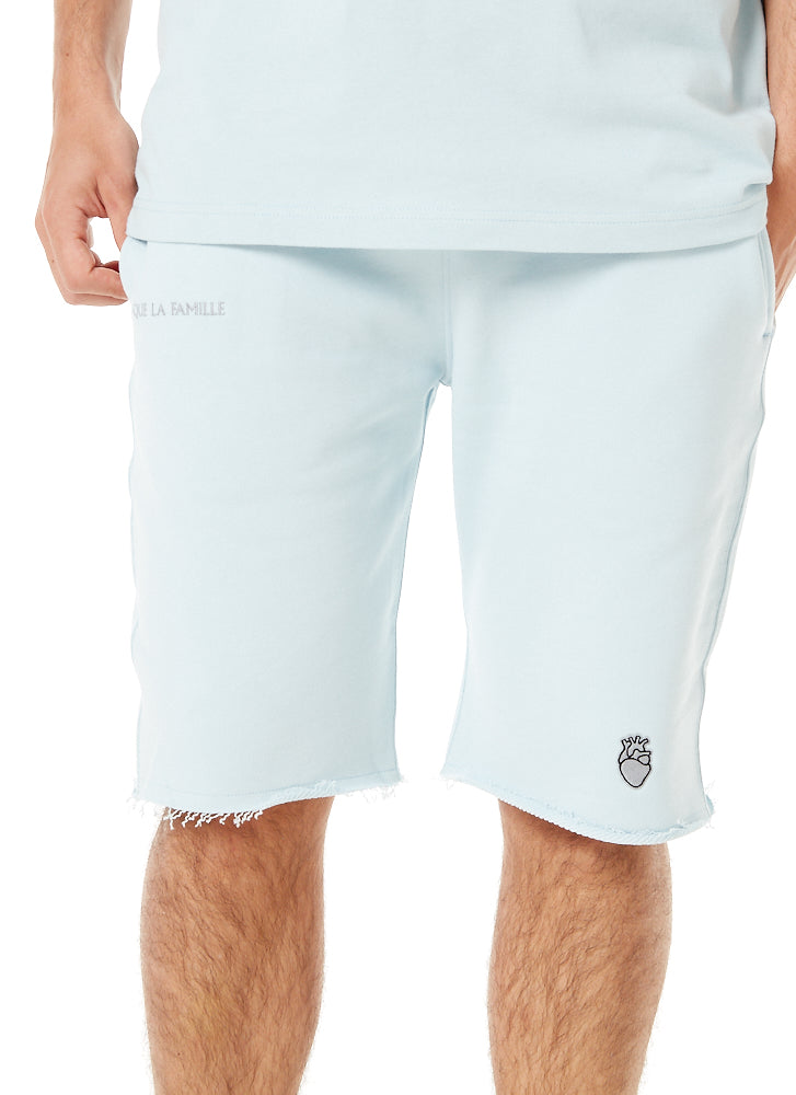 Short coton Summer Bleu