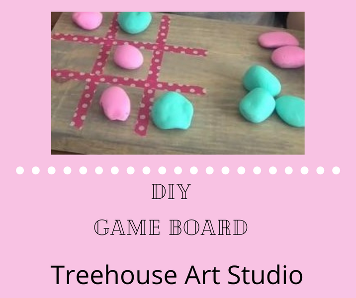 At Home Craft: DIY Game Board