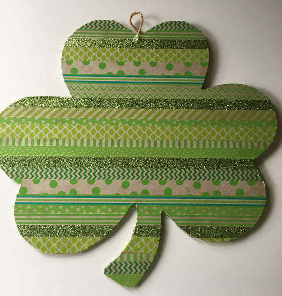 Washi Tape Shamrock - Quick Craft