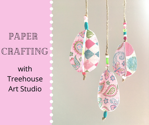 At Home Craft: Paper Crafting 3D shapes