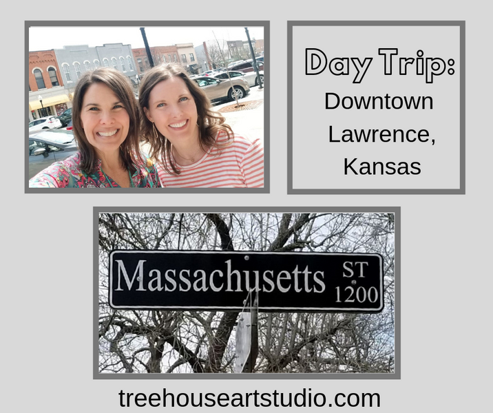 Day Trip: Downtown Lawrence, Kansas