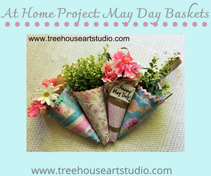 At Home Craft: May Day Baskets