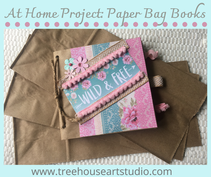 At Home Craft: Paper Bag Books