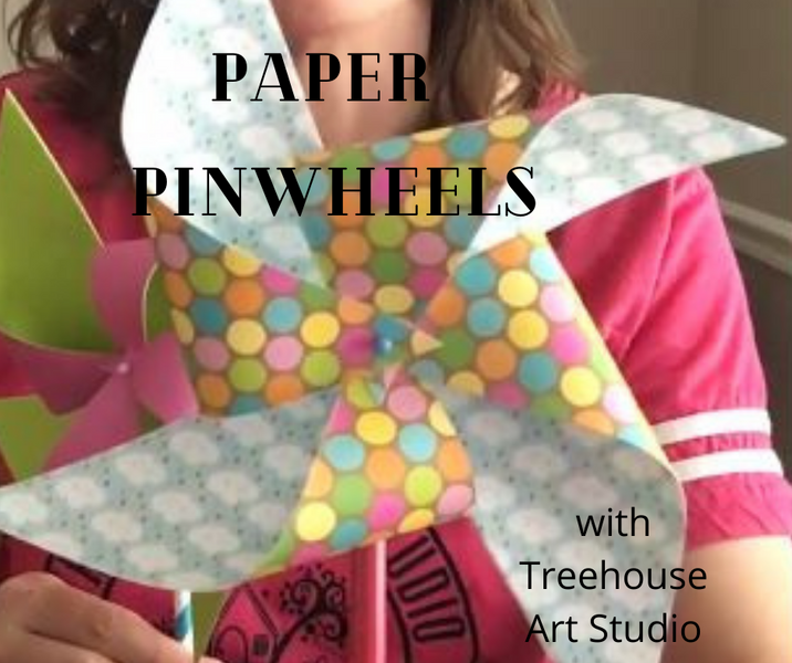 At Home Craft: Pinwheels