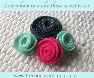 At Home Craft: Roses