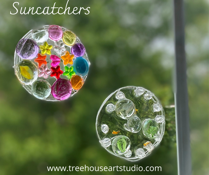 At Home Craft: Suncatchers
