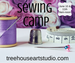 sewing camp, summer art camp