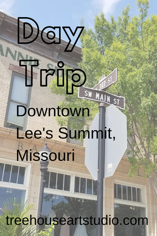 Day trip downtown Lee's Summit, Missouri