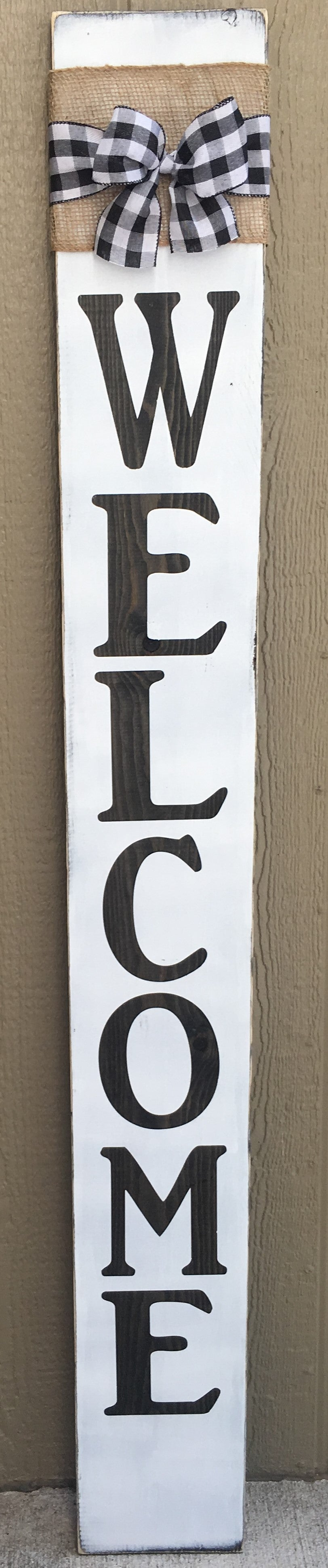welcome porch sign class,