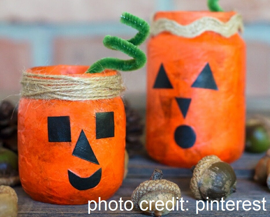 girl scout art workshop, girl scout community service event, halloween craft