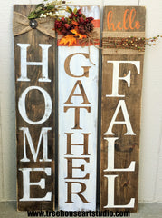 fall porch signs, fall home decor, rustic farmhouse decor