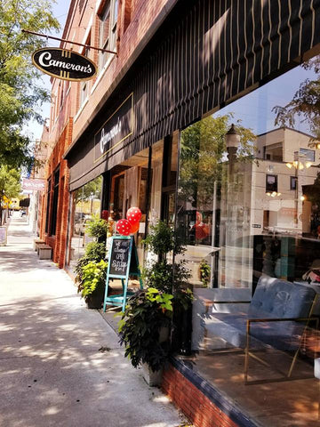 places to shop in downtown lee's summit, cameron's home furnishings