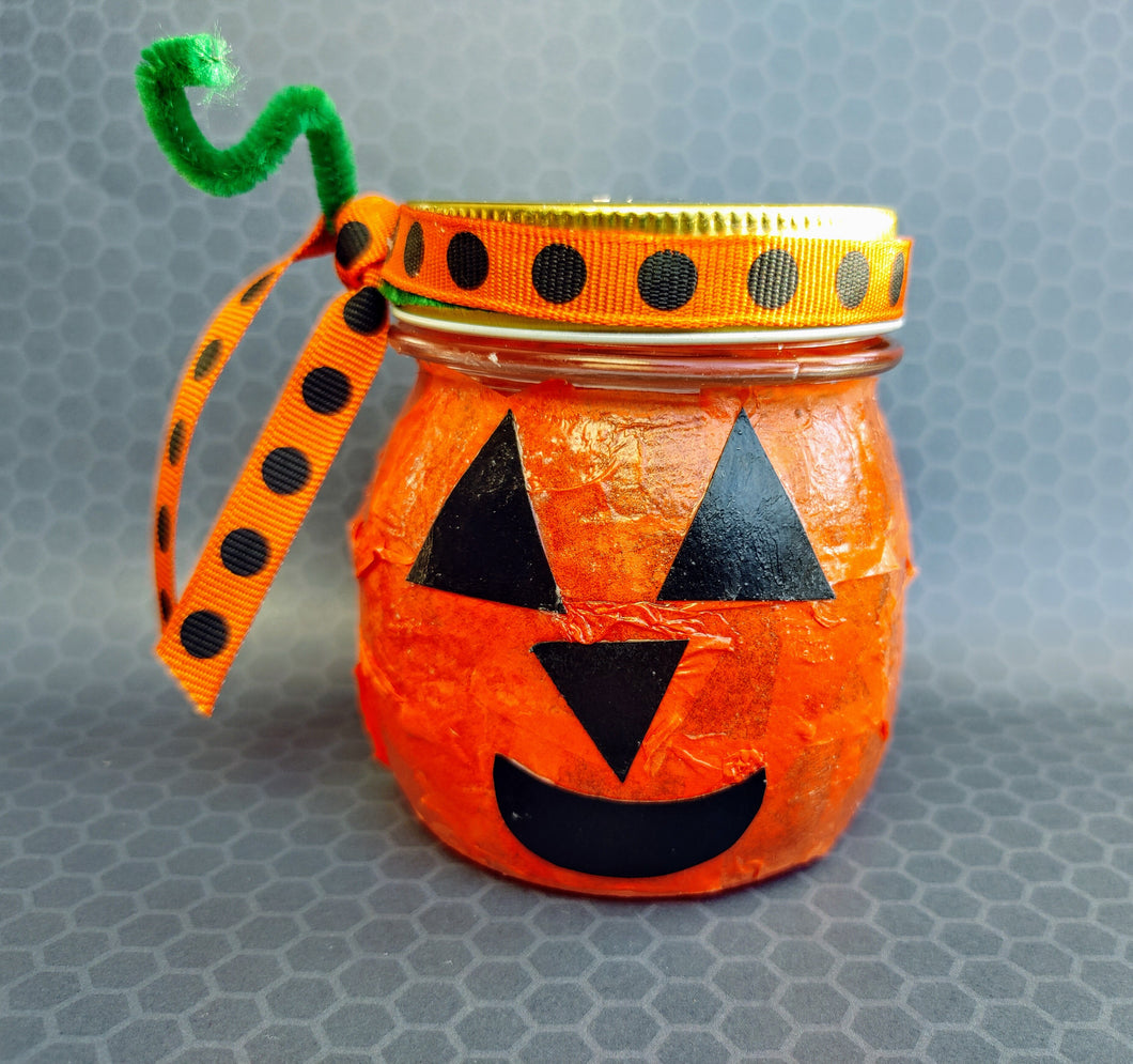 Craft Kit - Decoupage Jack-o-Lanterns