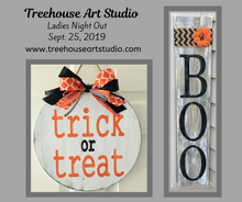 Ladies Night Out: Halloween Sign - Sept. 25, 2019