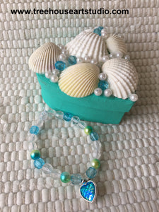 Craft Kit - Mermaid Trinket Box and Bracelet (limited availability)