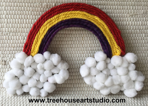 Craft Kit - Yarn Rainbow (limited availability)