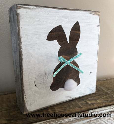 Craft Kit - Bunny Wood Block Tabletop