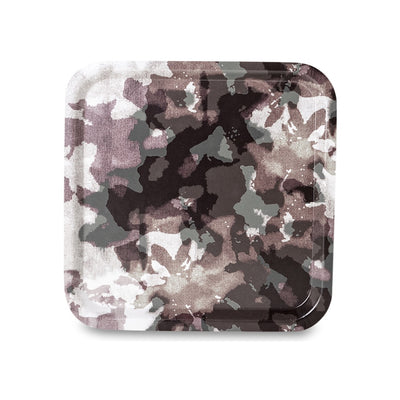 Camouflage Tray Plum