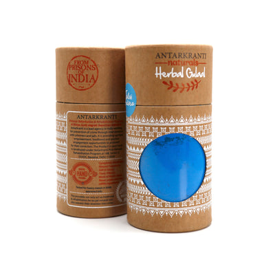 Herbal Blue Gulal Tulsi Pudina