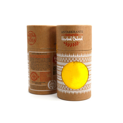 Herbal Yellow Gulal Haldi Chandan