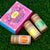 Truck Art 3 in 1 Gift Set Herbal Holi Gulal. Herbal Holi Color 3 in 1 Gift Set.