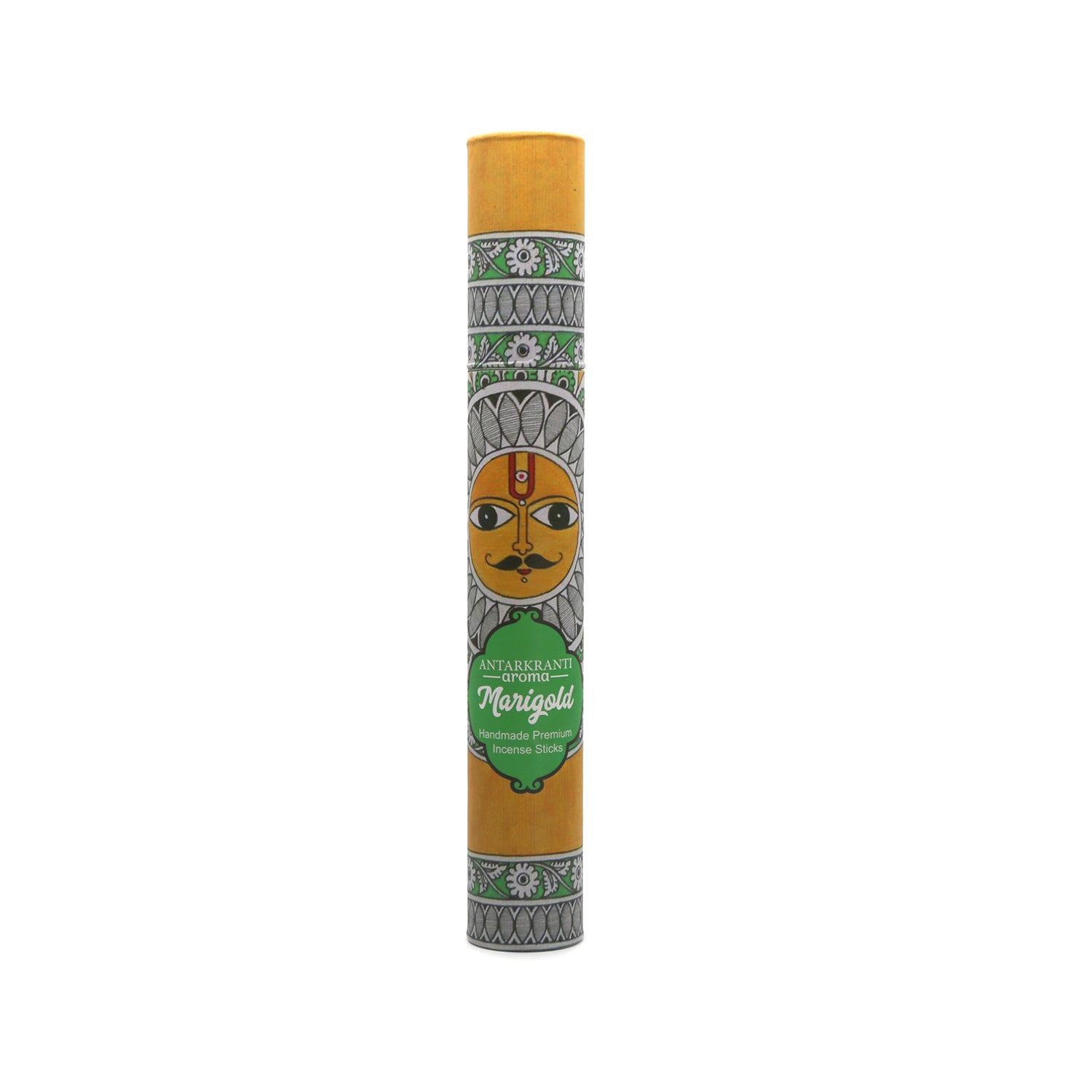 Marigold Incense Stick | 100% Natural Agarbatti | Charcoal Free