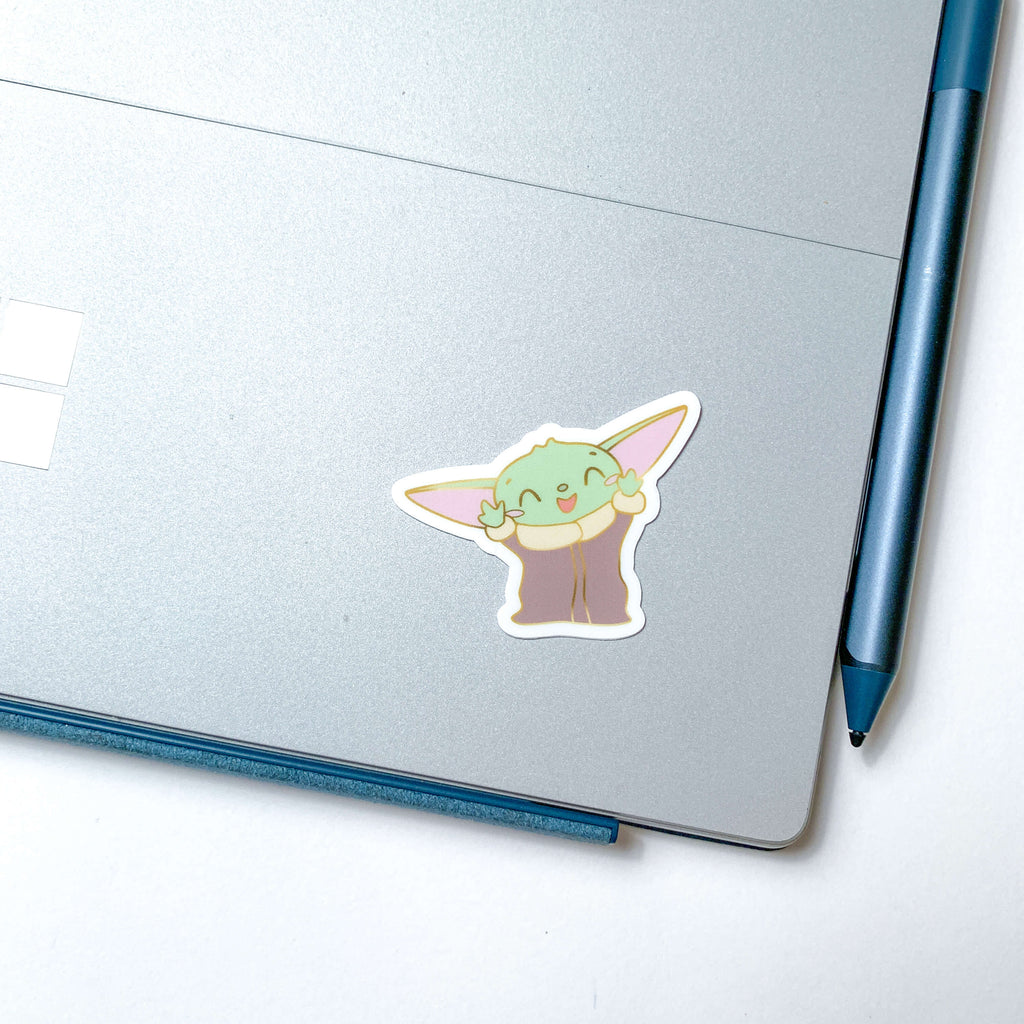 Cutie Alien Sticker