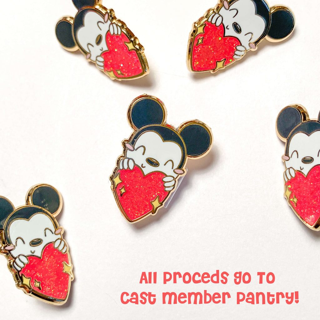 The Main Mouse Charity Pin