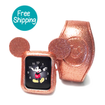 Bundled Glitter Magic Band and Watch Cover
