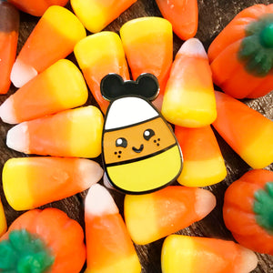 Curt the Candy Corn Pin
