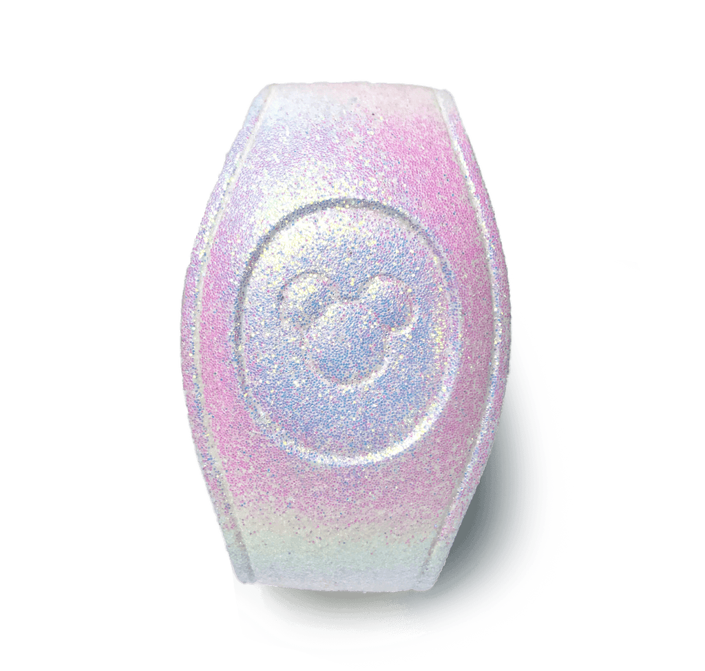 Color Change Purple Glitter Magic Band