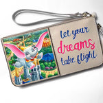 Let Your Dreams Take Flight Wristlet
