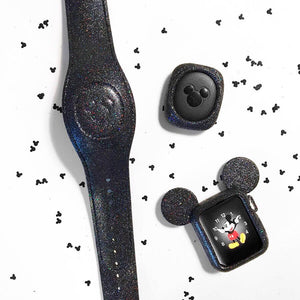Black Glitter Magic Band