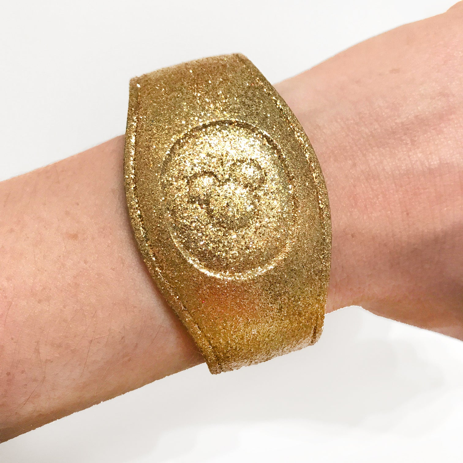 Gold Glitter Magic Band