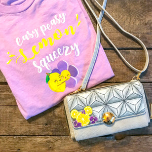 Violet Lemonade Color Change Purse