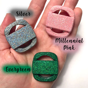 Flexible Glitter Magicband Puck Holder