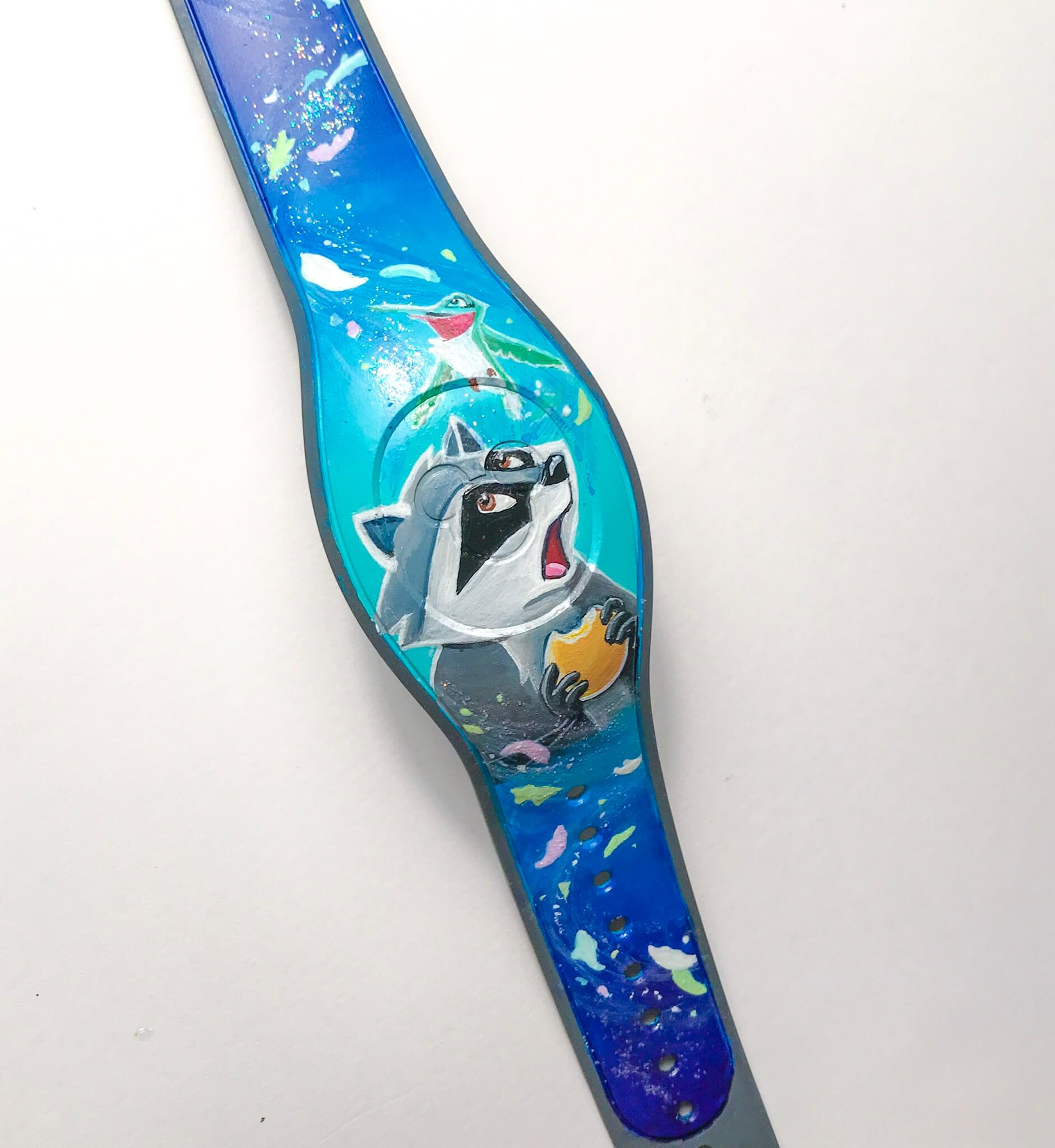 Custom Painted Character Magic Band