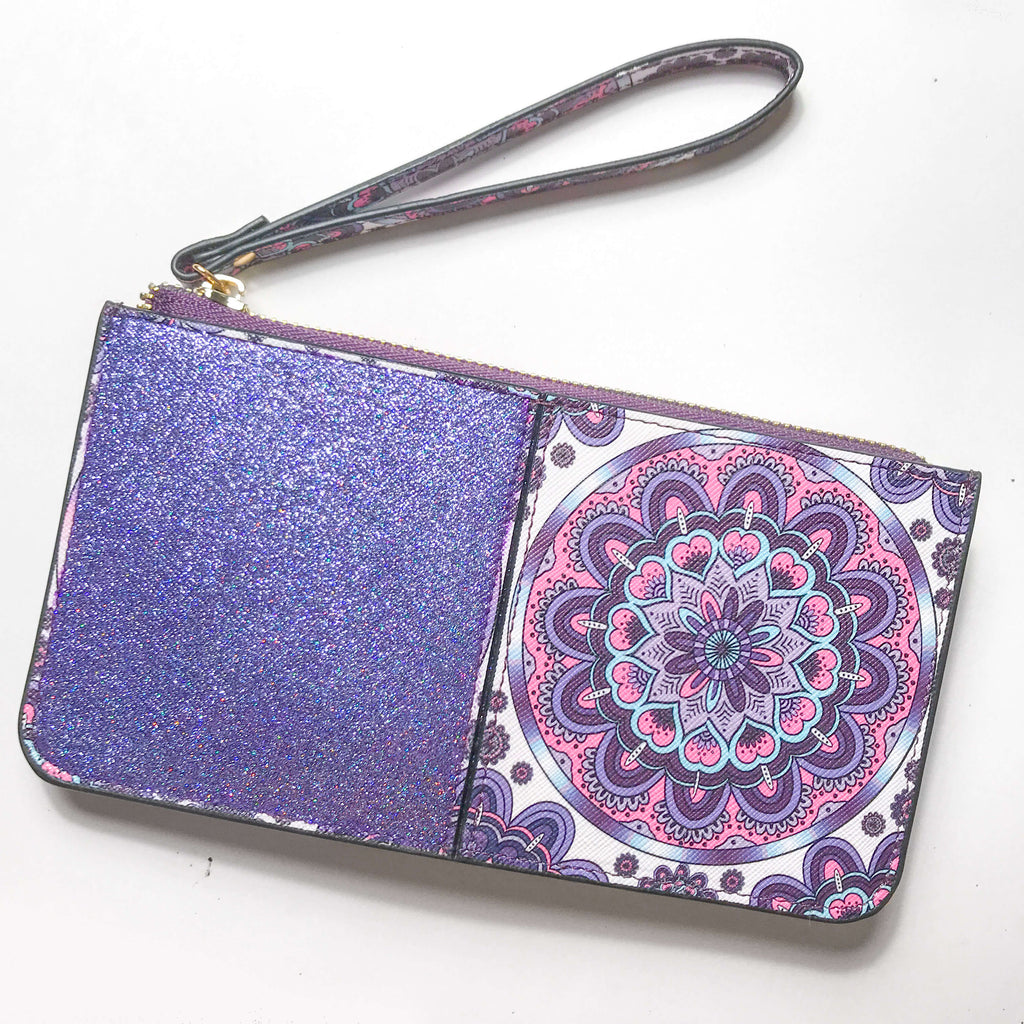 Potion Purple Princess Wristlet