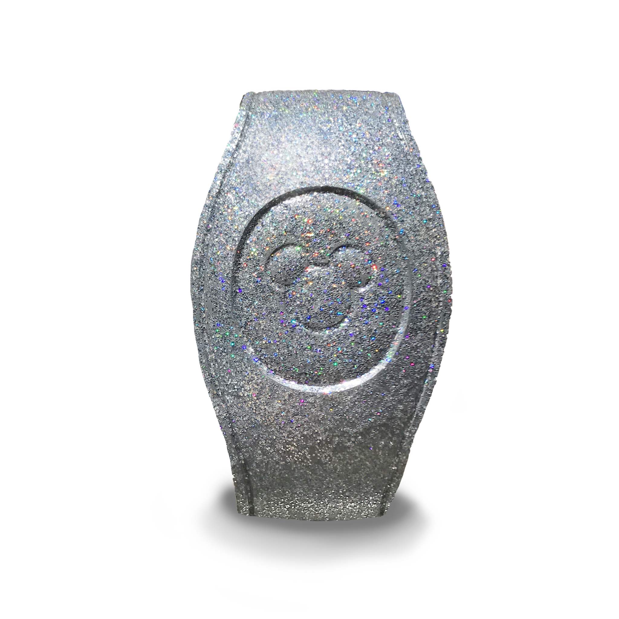 Silver Glitter Magic Band