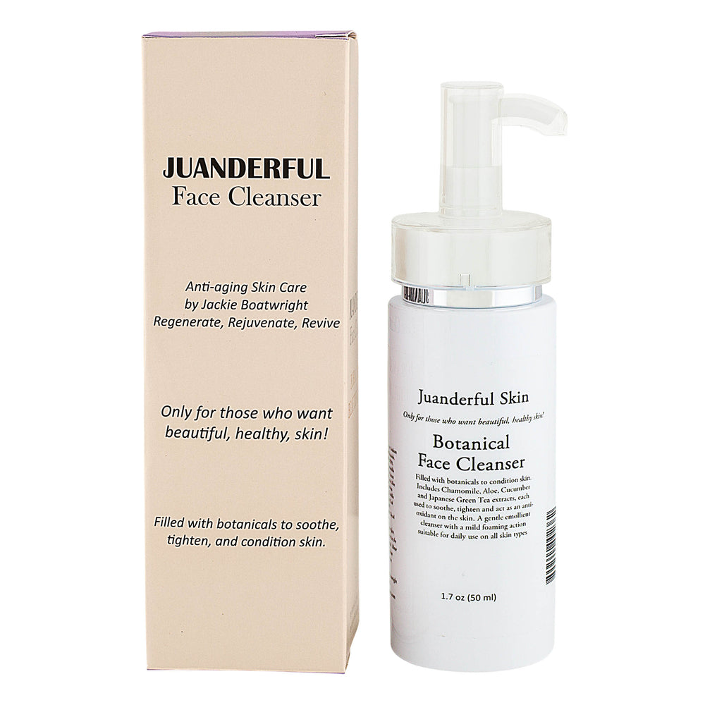 Case of Botanical Face Cleanser