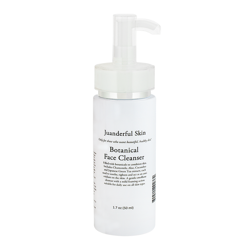 Botanical Face Cleanser - Skin Care - juanderfulhairskin - juanderfulhairskin