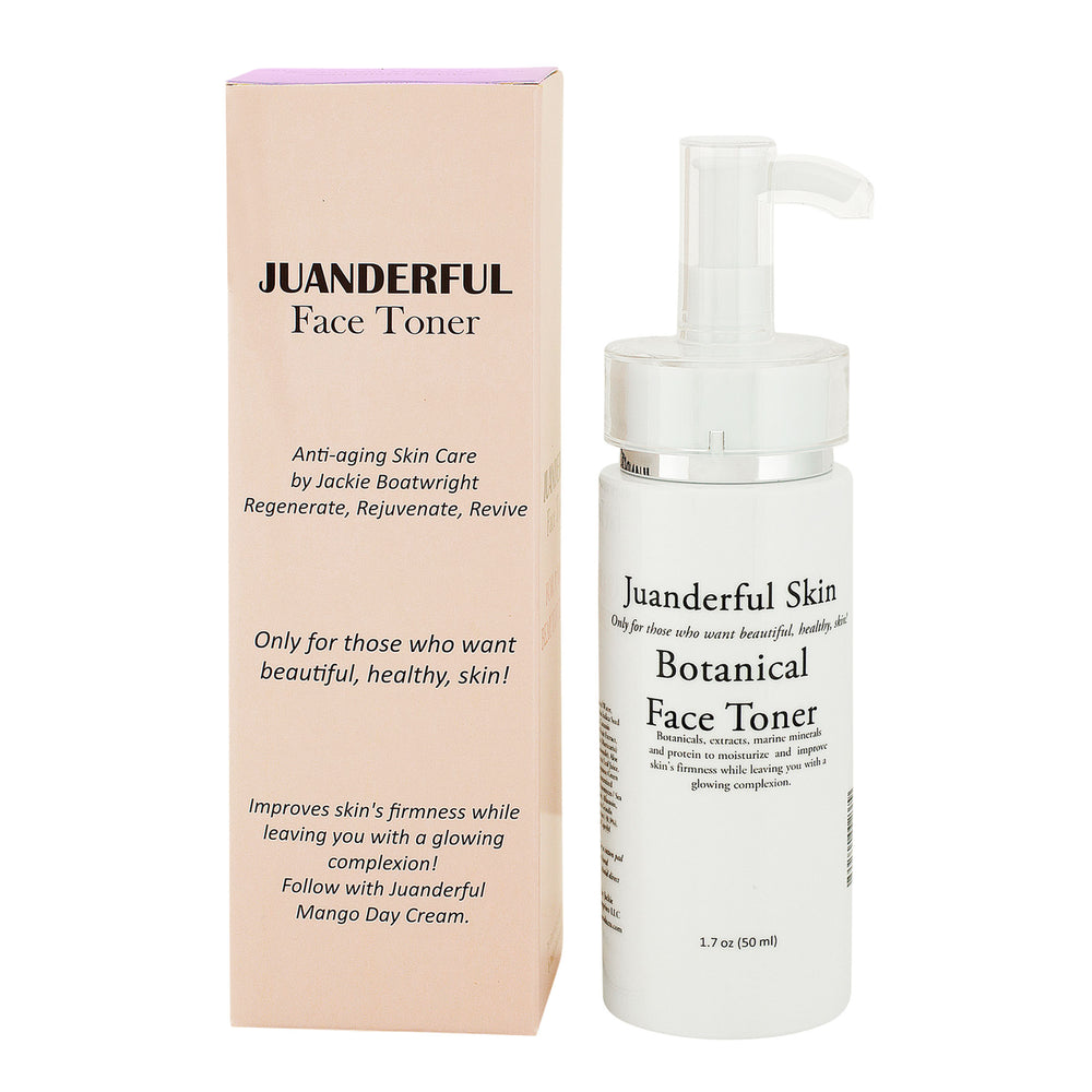 Case of Botanical Face Toner